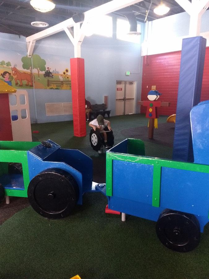LegoLand FL Duplo Valley  Barn Play Area
