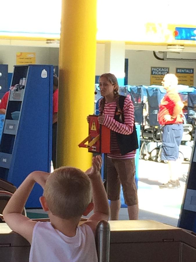 LegoLand FL opening ceremony