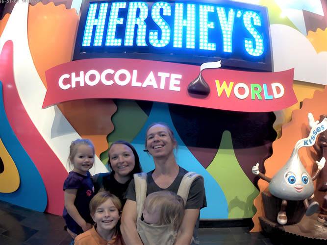 Hershey's Chocolate World, Hershey, PA