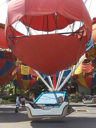 Kiddie Rides at Hershey Park