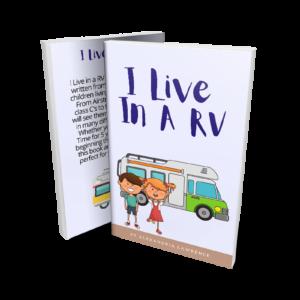 I live in a RV children's book