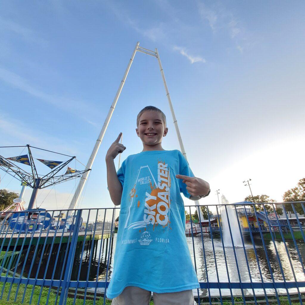 Worlds Tallest Sky Coaster Fun Spot America Kissimmee FL